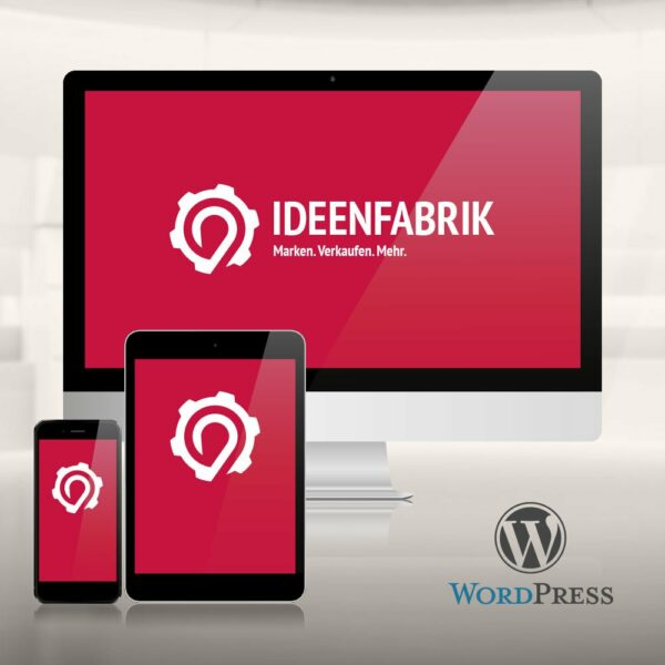 Ideenfabrik-Websites mit Wordpress