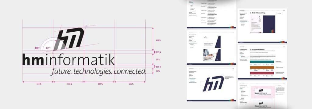 HM Informatik AG Corporate Design