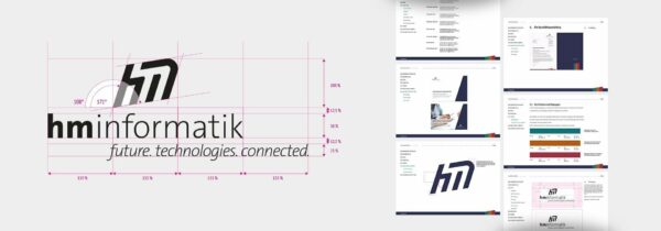 HM Informatik AG Corporate Design