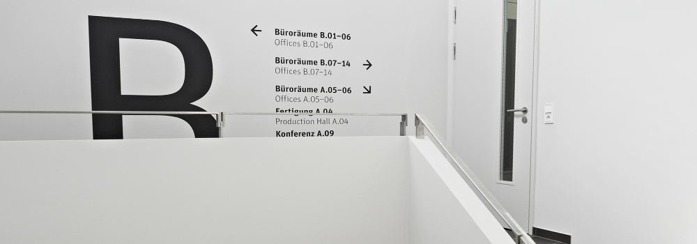 Corporate Architecture umgesetzt für Berghof Automationstechnik