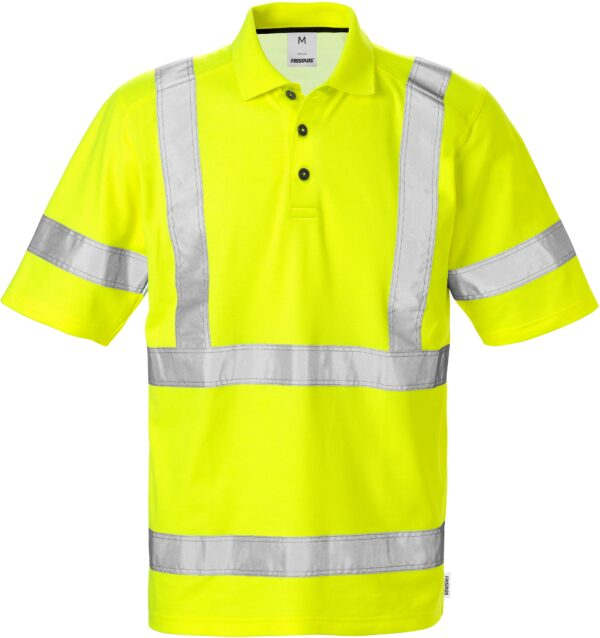 High Vis Poloshirt 7025 Kl. 3 PHV | Fristads