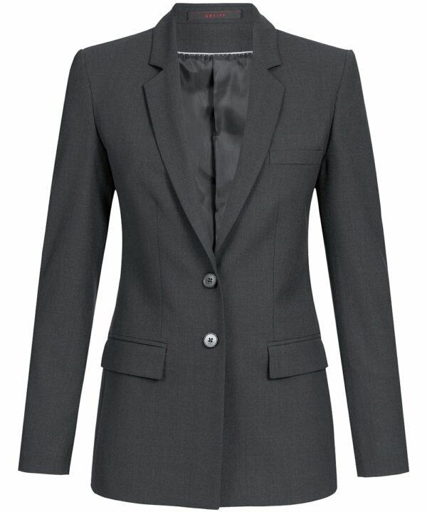 Damen-Langblazer / Regular Fit