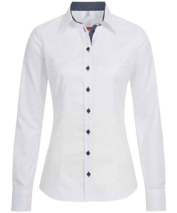 Damen-Bluse 65191   Slim Fit   Greiff Modern-Kollektion