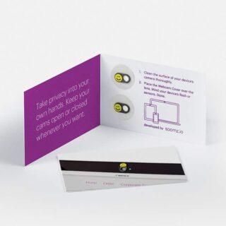 Webcam-Abdeckung 2er-Set inkl. personalisierter Schieber