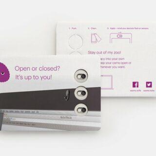 Webcam-Abdeckung 3er-Set inkl. personalisierter Schieber