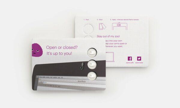 Webcam-Abdeckung 3er-Set personalisiert