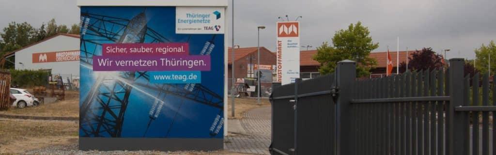 TEN Thüringer Energie Graffiti