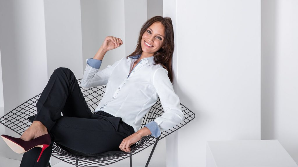 Damen-Bluse / Regular Fit