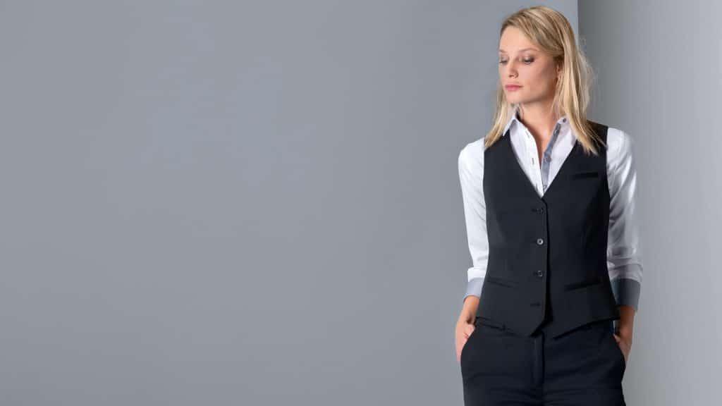 Damen-Weste / Regular Fit