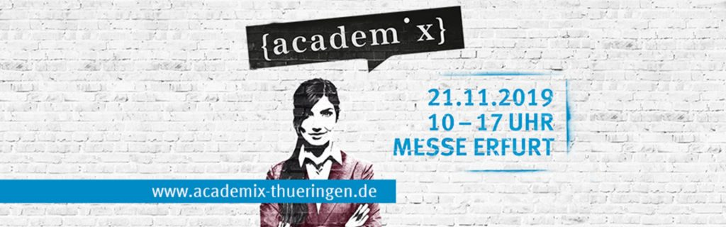 academix in Erfurt, am 21.11.2019, mit der Ideenfabrik 1
