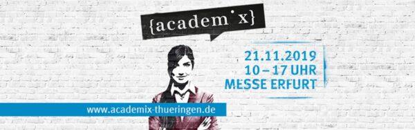academix in Erfurt, am 21.11.2019, mit der Ideenfabrik