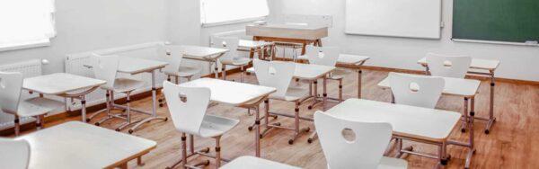Illustration zur antimikobiellen Beschichtung in der Schule