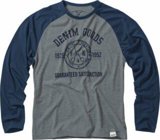 Baumwoll-T-Shirt Langarm 7006 LZT