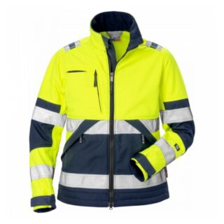 High Vis Softshell-Jacke Damen Kl. 2 4183 WYH