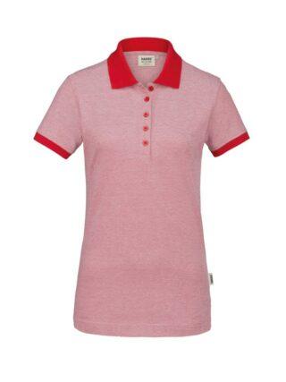 Damen-Poloshirt Bird´s Eye
