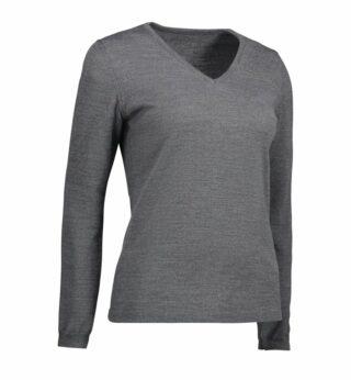 Classic V-neck pullover | Damen
