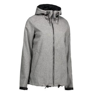 Casual Soft Shell Damenjacke | Kapuze
