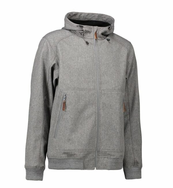 Soft Shell-Jacke mit Kapuze
