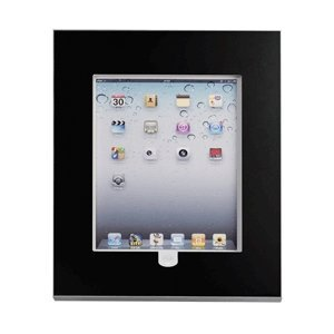 go2 Tablet-Box für iPAD 2-4 + air, schwarz, Home-Button-Accessibility