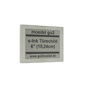 go2 e-Ink digitales Türschild 6 Zoll