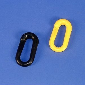 Verbindungsglied, Polyethylen, gelb, 8 mm