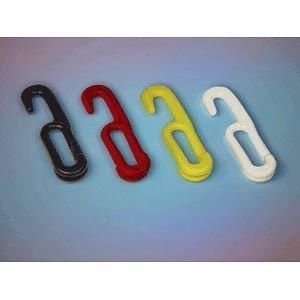 Einhängehaken, Polyethylen, gelb, 6 mm