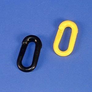 Verbindungsglied, Polyethylen, schwarz, 6 mm