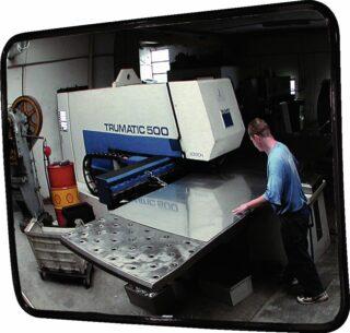 Innenbeobachtungsspiegel aus Acrylglas, 600x400 mm