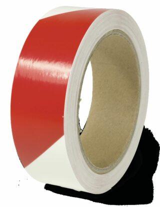 Markierungsstreifen linksweisend, Alu,langnachleuchtend/rot,160-mcd,30 mm x 16 m