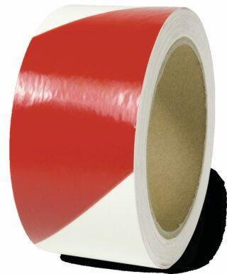 Markierungsstreifen linksweisend, Alu,langnachleuchtend/rot, 160-mcd, 50mm x 16m