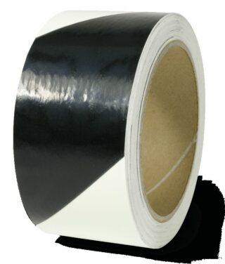 Markierungsstreifen linksweisend,Alu,langnachleucht./schwarz,160-mcd, 50mm x 16m