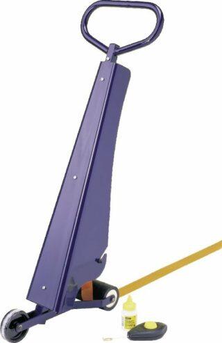 PROline-tape Markierset, Markierungsgerät und 2 Rollen blau à 75 mm x 33 m