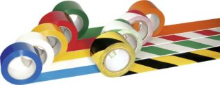 PROline-tape, Folie, gelb/schwarz, 75 mm x 33 m