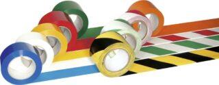 PROline-tape, Folie, grün/weiß, 75 mm x 33 m