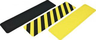 Antirutsch Formteil, Typ Verformbar, gelb/schwarz, 150x610 mm