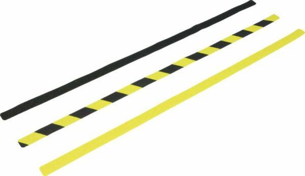 Antirutsch Formteil, Typ Verformbar, gelb/schwarz, 25x800 mm