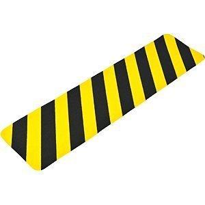 Antirutsch Formteil, Typ Universal, gelb/schwarz, 150x610 mm