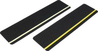 Antirutsch Formteil, Typ Universal, schwarz mit gelbem Streifen, 150x610 mm
