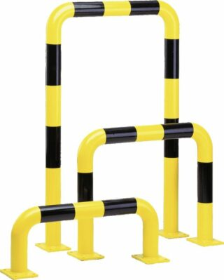 Rammschutz-Bügel XL, Außeneinsatz, Stahl, 1500x600 mm, Ø 108 mm
