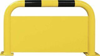 Rammschutz-Bügel mit Unterfahrschutz, Inneneinsatz, Stahl, 1000x350 mm