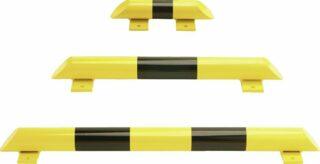Rammschutz-Balken, Inneneinsatz, Stahl, Ø 76 mm, Länge 800 mm