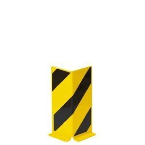 Anfahrschutz Winkel-Profil, Inneneinsatz, Stahl, 160x400 mm