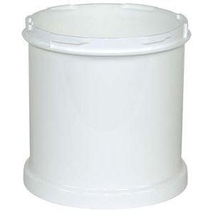 Zusatzsegment weiß, PP, Höhe 16 cm, für modularen Absperrpfosten Best.-No. 96662
