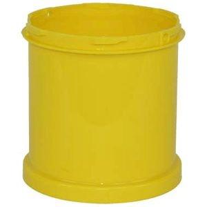 Zusatzsegment gelb, PP, Höhe 16 cm, für modularen Absperrpfosten Best.-No. 96664