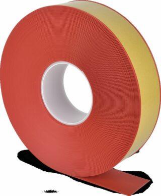 Bodenmarkierungsband WT-500 mit abgeschrägten Kanten, PVC, Rot, 5x2500 cm