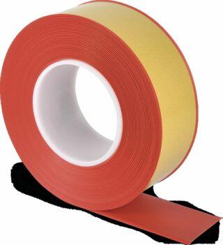 Bodenmarkierungsband WT-500 mit abgeschrägten Kanten, PVC, Rot, 5x1000 cm