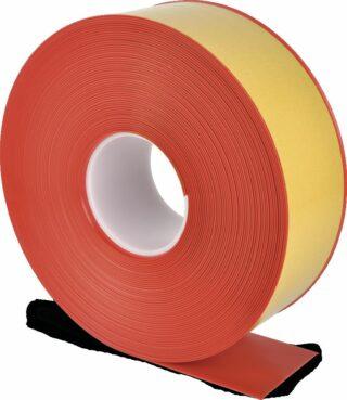 Bodenmarkierungsband WT-500 mit abgeschrägten Kanten, PVC, Rot, 7,5x2500 cm