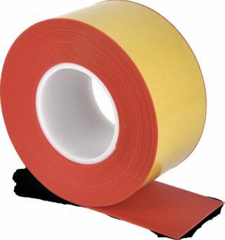 Bodenmarkierungsband WT-500 mit abgeschrägten Kanten, PVC, Rot, 7,5x1000 cm