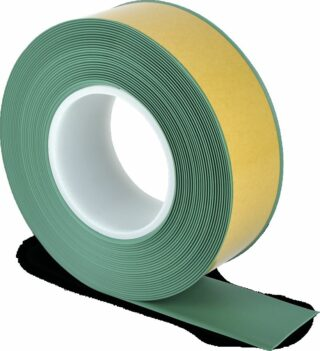 Bodenmarkierungsband WT-500 mit abgeschrägten Kanten, PVC, Grün, 5x1000 cm
