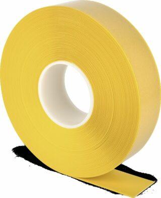 Bodenmarkierungsband WT-500 mit abgeschrägten Kanten, PVC, Gelb, 5x2500 cm